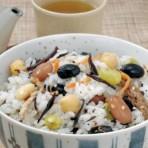 ⑦5色豆ごはんの素 ケーオー産業㈱